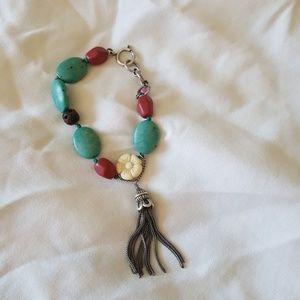 Cute bracelet with tassel